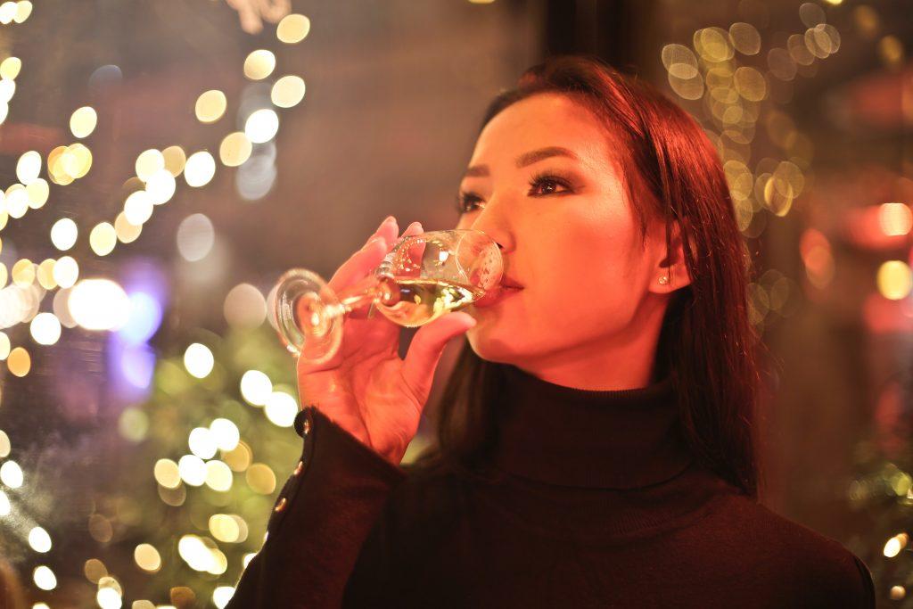 Champagne en wijn