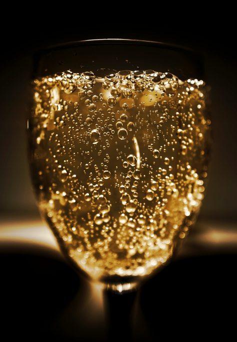 champagne- en wijn